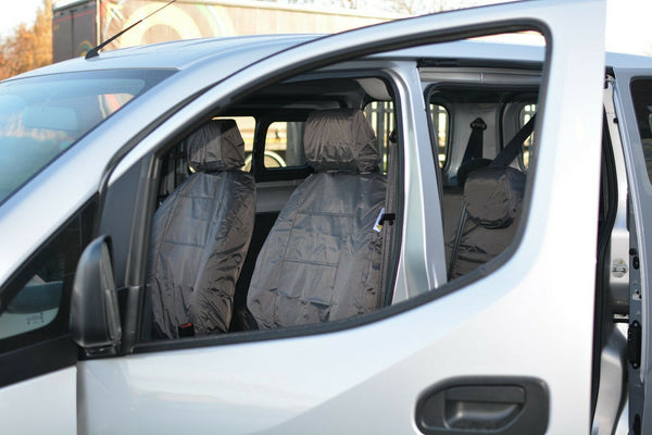 INKA Front 1+1 Fully Tailored Waterproof Seat Covers - to fit Nissan NV200 2009+