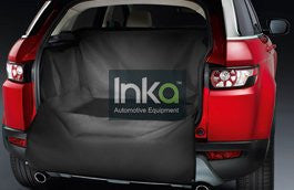 Inka Heavy Duty Boot Liner Rear Black Cover Mat Tailored Bumper / Boot Protector; Suitable for Pets & Dogs