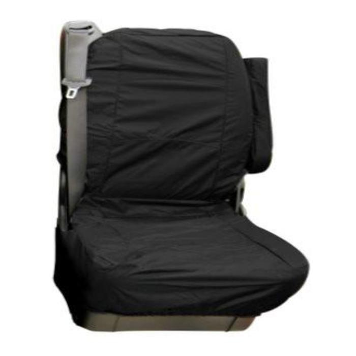 Mercedes Vito Fully Tailored Waterproof Rear Single Set Seat Cover 2006 Onwards Heavy Duty Right Hand Drive Black