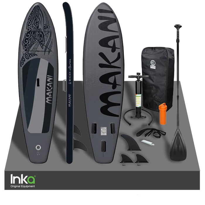 Makani Inflatable Stand Up Paddle Board Kayak 320x82x15 cm/ 10.5FT Accessories