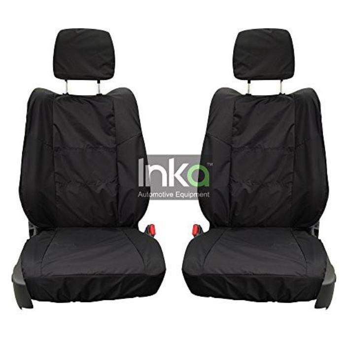 Chrysler Grand Voyager RHD 2nd Row Tailored Waterproof Seat Covers 1+1 MY08+ BLACK