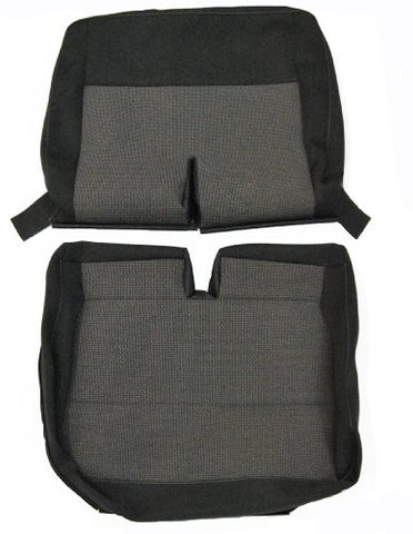 New Original VW T5 Transporter 2010 onwards OE Replacement Seat Cover - Front Double Seat Cover TIMO & ANTHRACITE CLOTH