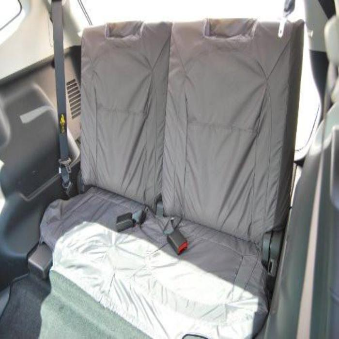 Nissan Qashqai Tekna Tailored Waterproof Third Row Set Seat Covers 2010 Onwards Heavy Duty Right Hand Drive Grey