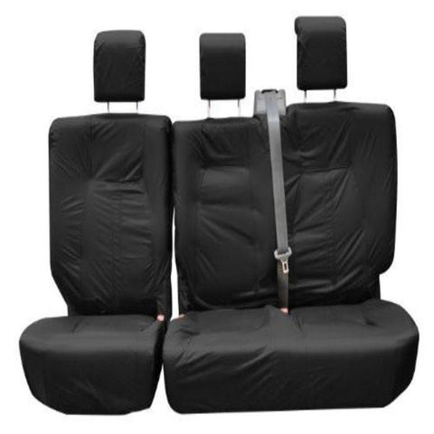 Land Rover Discovery4 Fully Tailored Waterproof 2nd and 3rd Row Set Seat Covers 2005 onwards Right Hand Drive