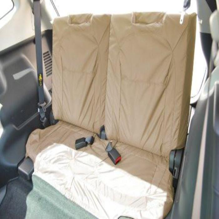 Nissan Qashqai Tekna Tailored Waterproof Third Row Set Seat Covers 2010 Onwards Heavy Duty Right Hand Drive Beige