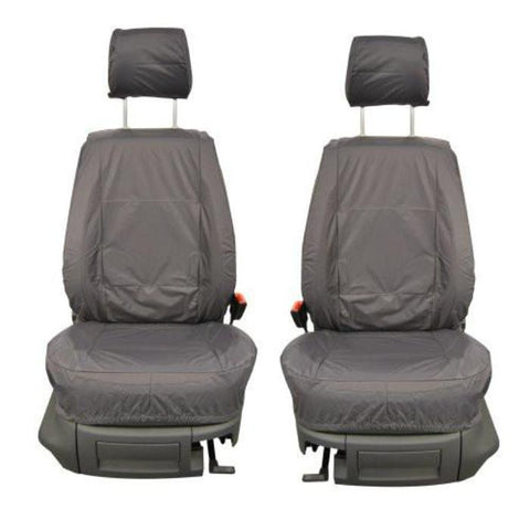 Nissan Micra Fully Tailored Waterproof Front Single Set Seat Covers 2007-2010 Heavy Duty Right Hand Drive Grey