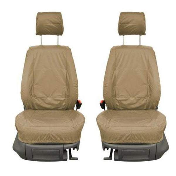 Vauxhall Combo Fully Tailored Waterproof Front Single Set Seat Covers 2011 Onwards Heavy Duty Right Hand Drive Beige