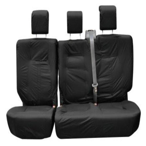 Ford Transit Custom Front INKA Tailored Seat Covers Black OEM Vinyl Leatherette
