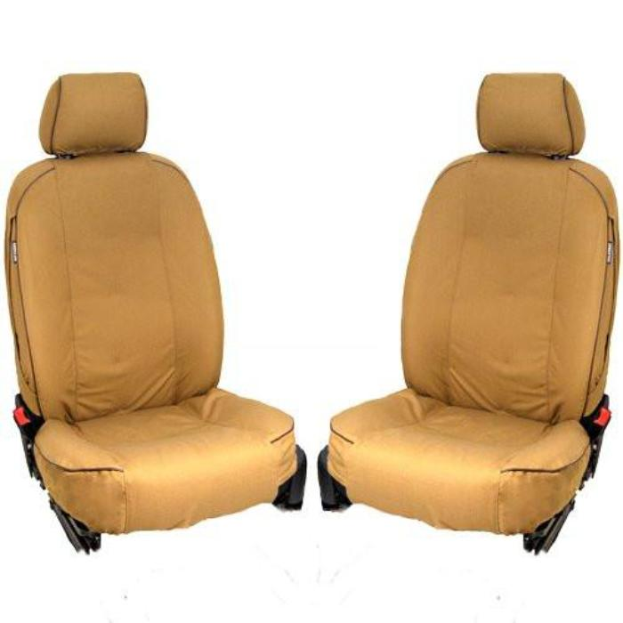 Land Rover Discovery 1 Fully Tailored Inka Heavy Duty Trail Canvas Tough Front Set Seat Covers 1989 - 1998 Onwards Right Hand Drive