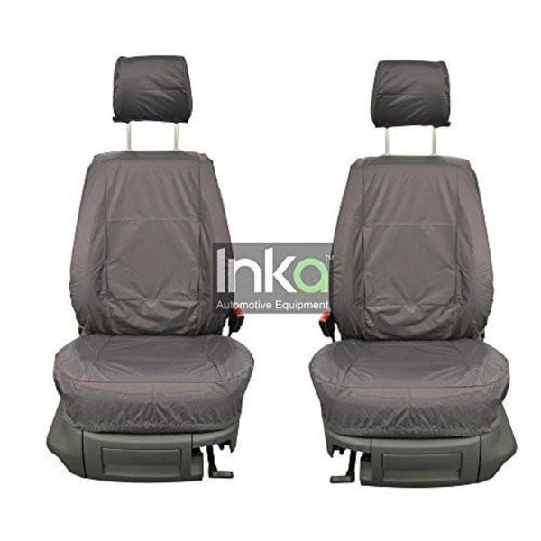 Skoda Yeti Fully Tailored Waterproof front Single Set Seat Covers 2011 - 2015 heavy Duty Right Hand Drive Grey- INK-WSC-5202