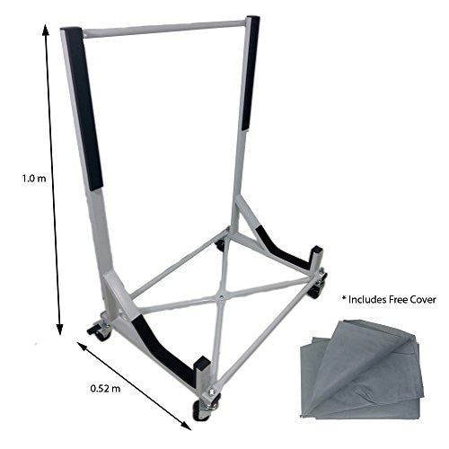 Convertible Hardtop Storage Steel Trolley Stand For Austin Healey 3000 With Free Cover