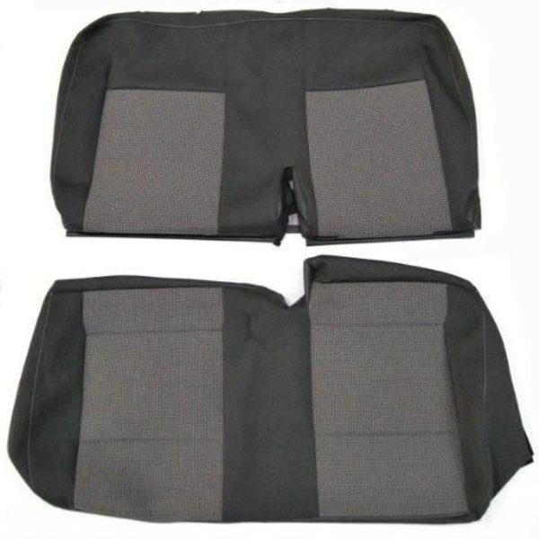 New Original VW T5 Transporter 2010+ OE Replacement Seat Cover - Rear Double Seat Cover TIMO & ANTHRACITE CLOTH