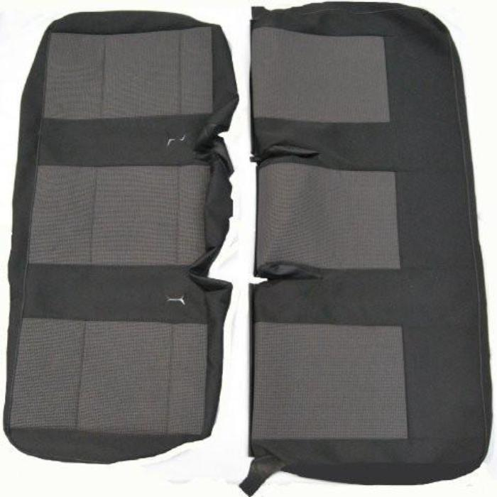 New Original VW T5 Transporter 2010+ OE Replacement Seat Cover - Rear Triple Seat Cover TIMO & ANTHRACITE CLOTH