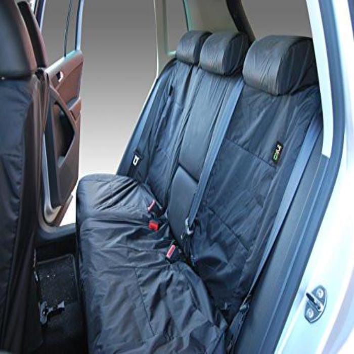 Volkswagen (VW) Tiguan Fully Tailored Waterproof Rear Set Seat Covers 2009 Onwards Heavy Duty Right Hand Drive Grey