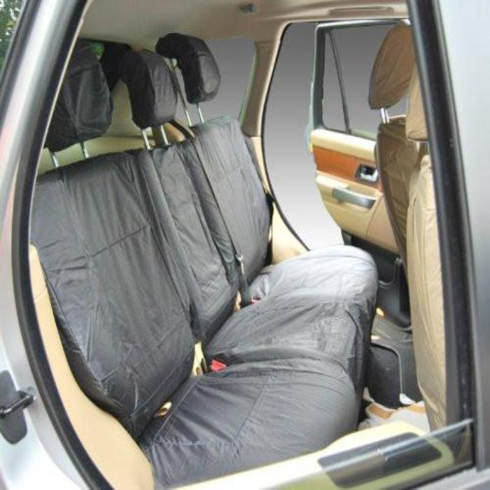 Land Rover Range Rover Sport Fully Tailored Waterproof Rear Second Row Single and Double Set Seat Covers 2013 Onwards Heavy Duty Right Hand Drive Grey- INK-WSC-7123