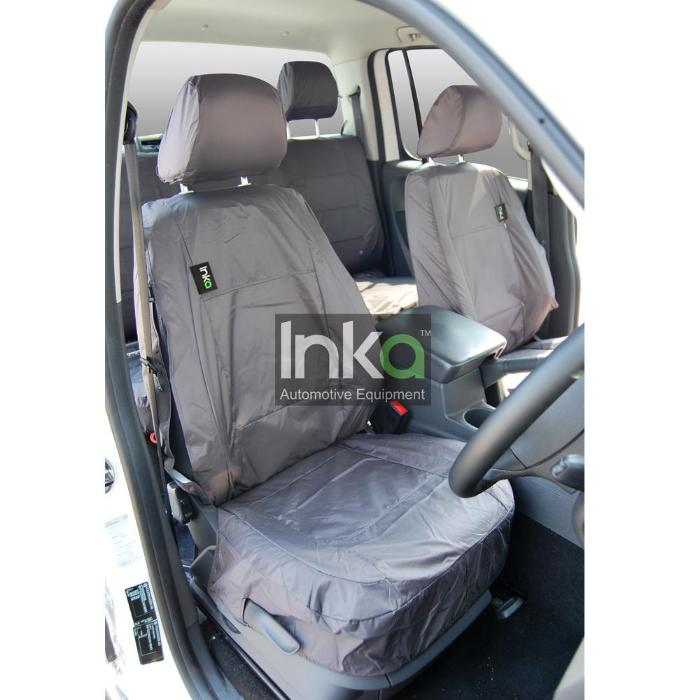 SEAT Toledo Taxi Inka Front Seat covers Driver and Passenger Grey