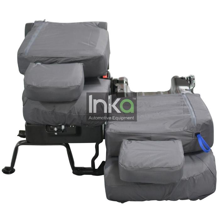 Citroen Berlingo Front Row Inka Fully Tailored Set Waterproof Seat Covers Grey