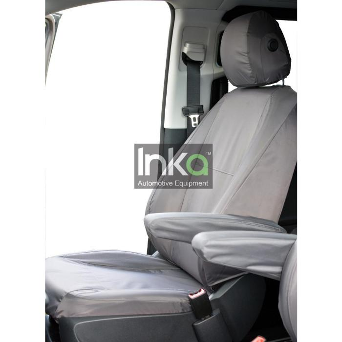 Mercedes Vito Front Inka Fully Tailored Waterproof Seat Cover Grey