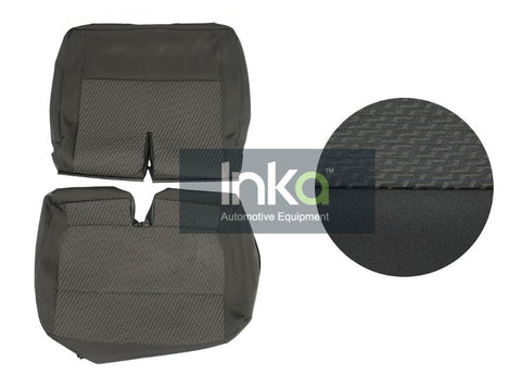 Original VW T5 Transporter 2010+ OE Replacement Seat Covers - Front Double Seat Cover - Tasamo Cloth
