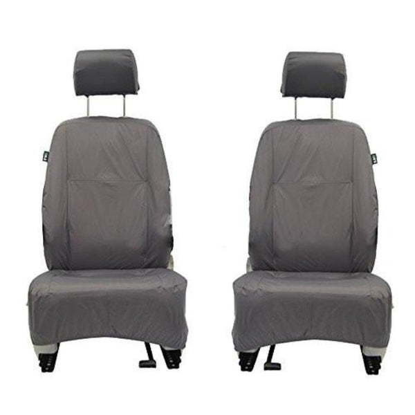 Vauxhall Astravan Inka Fully Tailored Waterproof Front Row Seat Covers Vauxhall Astravan 1+1 Front Set Model Year 2004-2010 Onwards  Grey