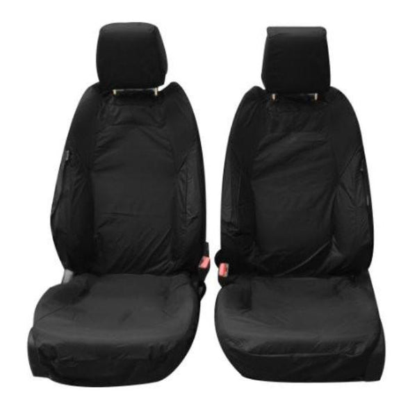 Range Rover Evoque 5 Door Tailored Waterproof Front Set Seat Covers 2011-2015 Heavy Duty Right Hand Drive Black