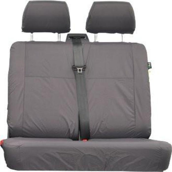 Mercedes Vito Front Double Comfort Seat Tailored Seat Cover Right Hand Drive 2003-2014 in Grey