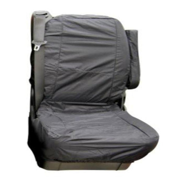 Mercedes Vito Fully Tailored Waterproof Rear Second Row Single Set Seat Cover 2006 Onwards Heavy Duty Right Hand Drive Grey