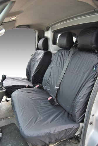 Nissan Primastar Fully Tailored Waterproof Front 2003-2015 Heavy Duty Right Hand Drive Grey