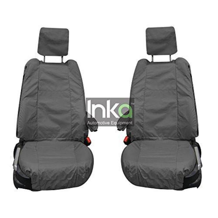 Range Rover Fully Tailored Waterproof Front Single Set Seat Covers 2002-2012 Heavy Duty Right Hand Drive Grey For Comfort Seat Types