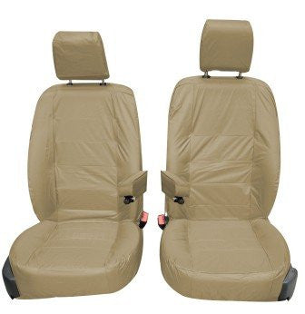 Land Rover Discovery 4 Fully Tailored Waterproof Front 2010-2013 Heavy Duty Right Hand Drive Beige- INK-WSC-3526