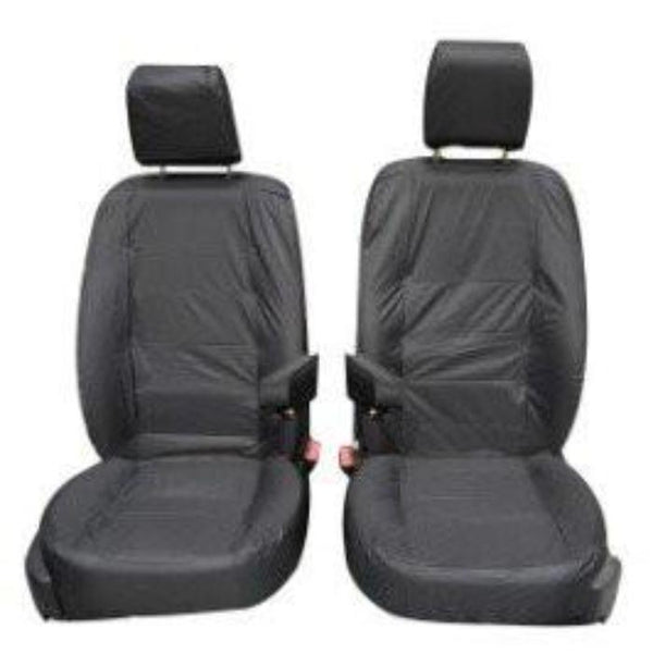 Land Rover Discovery 3 Fully Tailored Waterproof Front Single Set Seat Covers 2004-2009 Heavy Duty Right Hand Drive Grey