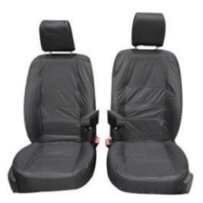 Land Rover Discovery 3 Fully Tailored Waterproof Front Single Set Seat Covers 2004-2009 Heavy Duty Right Hand Drive Grey- INK-WSC-8020