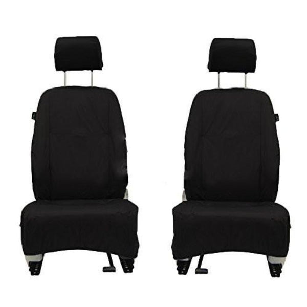 Jeep Compass Fully Tailored Waterproof Front Row Set Seat Covers 2010 Onwards Heavy Duty Right Hand Drive Black