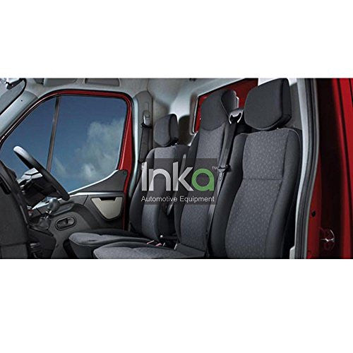 Vauxhall Movano Fully Tailored Waterproof Rear 2010-2013 Heavy Duty Right Hand Drive Black