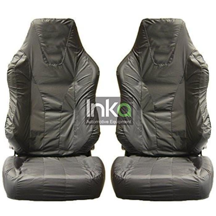 Recaro Sportster Fully Tailored Front Single Set Seat Covers 2001 Onwards Heavy Duty Left Hand Drive Grey
