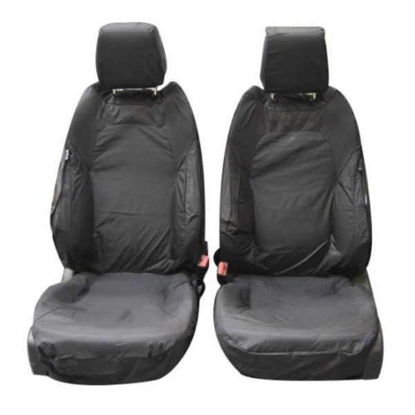 Range Rover Evoque 5DR Fully Tailored Waterproof Front Row Set Seat Covers 2011 Onwards Heavy Duty Right Hand Drive Grey