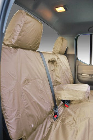 Nissan Navara Acenta Fully Tailored Waterproof Front 2005-2013 Heavy Duty Right Hand Drive Beige