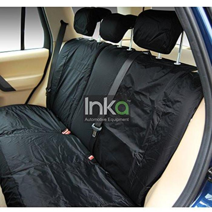 Land Rover Range Rover Sport Fully Tailored Waterproof Rear Second Row Single and Double Set Seat Covers 2013 Onwards Heavy Duty Right Hand Drive Black