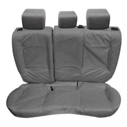 Range Rover Evoque 5 Door Tailored Waterproof Rear Set Seat Covers 2011-2013 Heavy Duty Right Hand Drive Grey