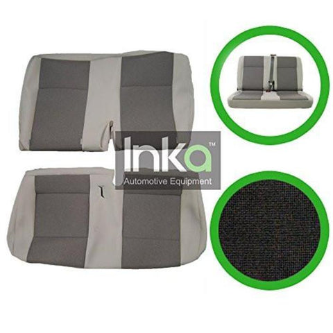 New Original VW OE Replacement Seat Cover - Rear Double Seat Cover - Austin Titan Light Grey
