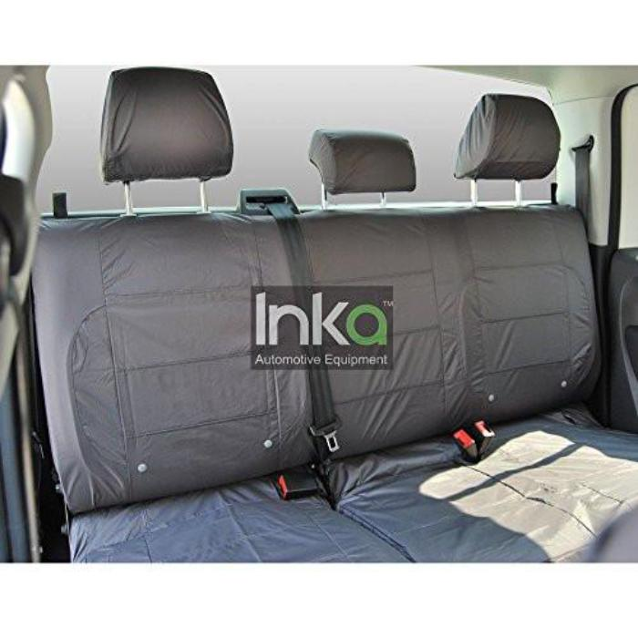 Isuzu Rodeo D Max Fully Tailored Waterproof Rear Second Row Triple Set Seat Cover MY01-2012 Onwards Heavy Duty Right Hand Drive Grey