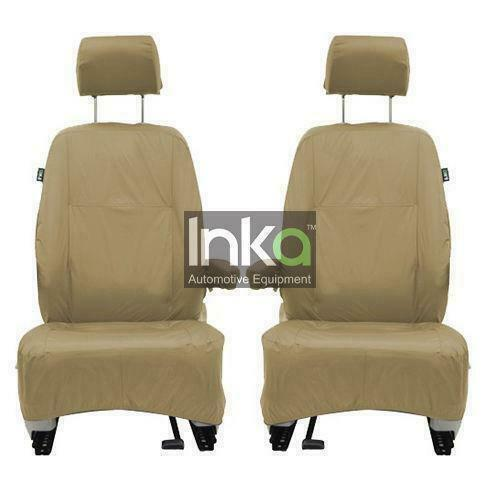 Land Rover Defender Fully Tailored Waterproof Rear Third Row 2007-2015 Heavy Duty Right Hand Drive Beige