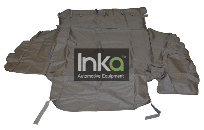 Ford Mondeo Estate Custom Inka Boot Liner Dog Mat Guard in Black MY2005-2013 INK-ACC-A004 (THE PHOTO SHOWS A GENERIC VEHICLE)