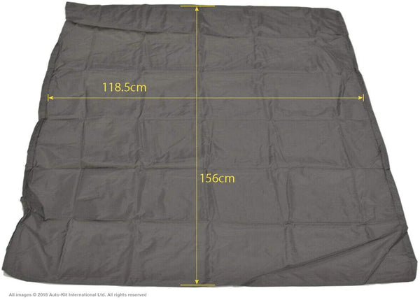 INKA Top Bed Large Mattress Tailored Waterproof Cover Grey - to fit Volkswagen California T6.1, T6 & T5