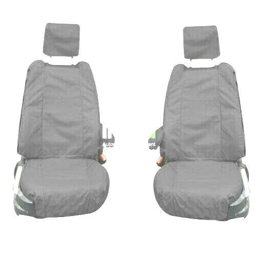 Land Rover Range Rover Fully Tailored Waterproof Front Row Set Seat Covers 200-2012 Heavy Duty Right Hand Drive Grey