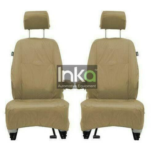 Land Rover Discovery 4 Fully Tailored Waterproof Rear Second and Third Row 2010-2013 Heavy Duty Right Hand Drive Beige