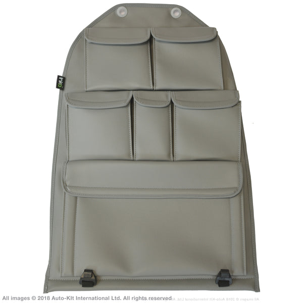 VW Transporter T6,T5 INKA Multibox Seat Storage Pocket Organiser Tool Grey Multi Kombi, Shuttle, California & Caravelle