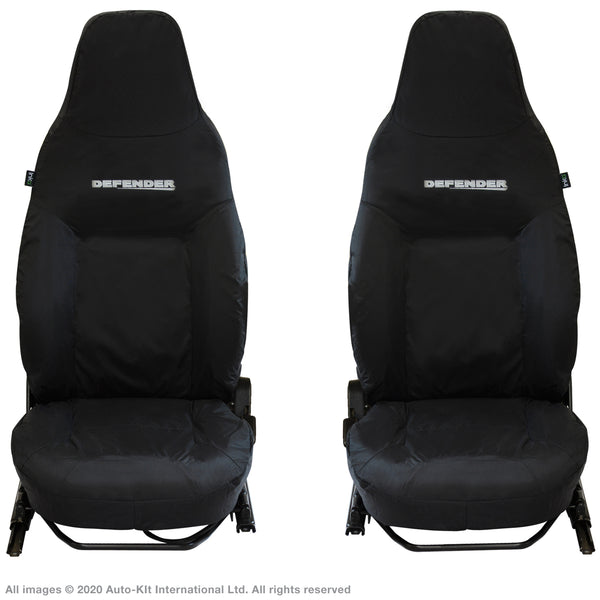 INKA Front 1+1 Land Rover Defender 791 Fully Tailored Waterproof Seat Covers with Embroidery