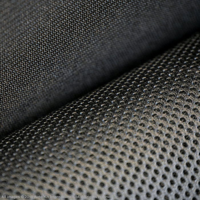 INKA Mesh Tech Fabric Spacer 3MM 1.5m Width Trainers Sports Equipment Black 3MM Thickness