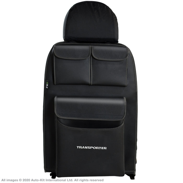 INKA Tailored VW Transporter T6.1, T6,T5.1 Seat Tidy Organiser Vinyl Leatherette